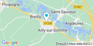Plan Carte Goujon Mathieu à Aily-sur-Somme