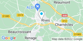 Plan Carte Boudrot Amaury à Rives-sur-Fure