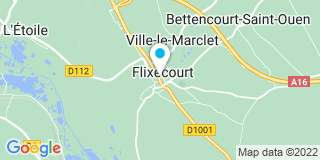 Plan Carte Mataich Mohamed à Flixecourt