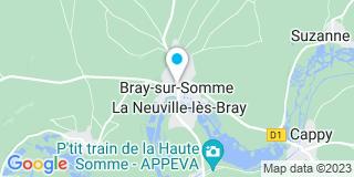 Plan Carte Palot-Lory Clotilde à Bray-sur-Somme