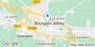 Plan Carte Champault Nicolas à Bourgoin-Jallieu