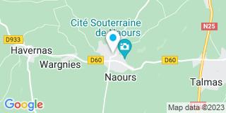 Plan Carte Petit Antoine à Naours