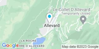 Plan Carte Dufresne Stanislas à Allevard