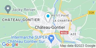 Plan Carte Fabien Josset à Château-Gontier