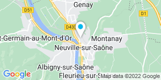Plan Carte L'étude notariale de Neuville sur Saone