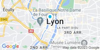 Plan Carte L'étude notariale de Lyon