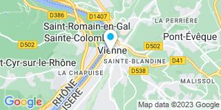Plan Carte Giraud-Viallet Dominique à Vienne
