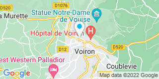 Plan Carte Hermann Didier à Voiron