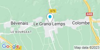 Plan Carte Laydevant Dal Fitto Nathalie à Le Grand-Lemps