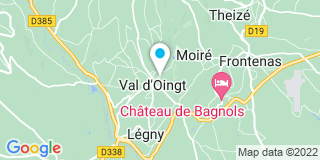 Plan Carte L'étude notariale de Le Bois D'Oingt