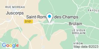 Plan Carte Maltherre Mélody à Saint-Romans