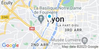 Plan Carte Les notaires Rémy Samson et Philippe David à Lyon