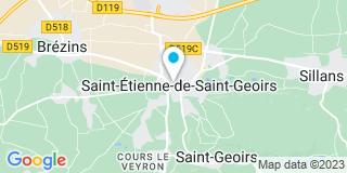Plan Carte Meunier-Goineau Sophie à Saint-Etienne-de-Saint-Geoirs
