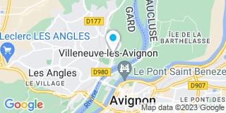 Plan Carte Olivier Berger à Villeneuve-lès-Avignon
