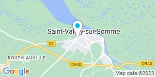 Plan Carte Christine Butel et Bruno Sigwald  à Saint-Valéry-sur-Somme