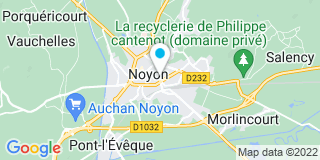 Plan Carte Hubau Nicolas à Noyon