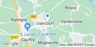 Plan Carte Leclair Marie-Christine à Liancourt