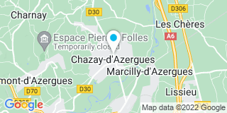 Plan Carte L'étude notariale de Chazay d'Azergues