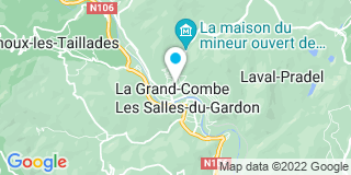 Plan Carte Vidal Jean-Marie à la Grand-Combe
