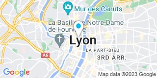 Plan Carte Les notaires Thierry Jullien et Jean-Michel Leberquier à Lyon