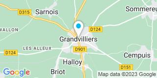 Plan Carte Reeb Pierre à Grandvilliers