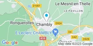 Plan Carte Alain Boivin, Nathalie Boivin-Dutry et Emmanuelle Pacquet-Gaillemard à Chambly