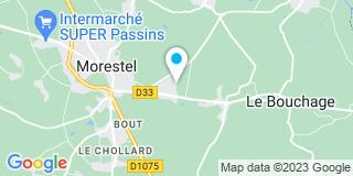 Plan Carte Rival, Saramito, Mayen, Charlet-Monot, Saramito-Sottilini à Morestel