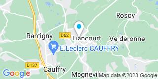 Plan Carte Frank Cajet, Patrice Anty et Axel Anty à Liancourt