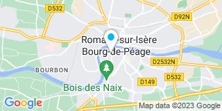 Plan Carte Gregoire Caroline à Bourg De Péage