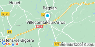 Plan Carte Ruel Dominique à Villecomtal Sur Arros