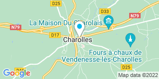 Plan Carte Notaire Marie-Christine Kadi à Charolles