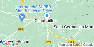 Plan Carte Notaire Alain Cauvel à Chauffailles