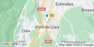 Plan Carte Jean-François Haond et Emmanuelle Fonsat à Le Pont-de-Claix