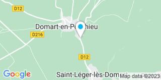 Plan Carte Tellier-Magnier Sandrine à Domart-en-Ponthieu