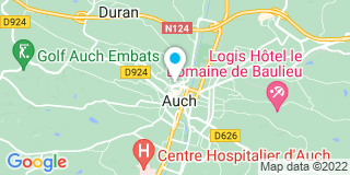 Plan Carte Jean Saint-Aubin et Mireille Lades à Auch