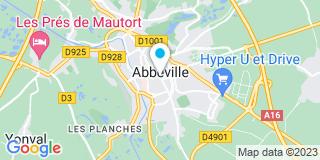 Plan Carte Trotier Manuella à Abbeville