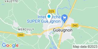 Plan Carte Les notaires Jean-Luc Bernat et Cédric Grabowski à Gueugnon