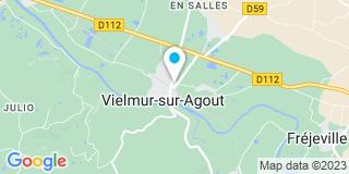 Plan Carte Canitrot Patrick à Vielmur Sur Agout