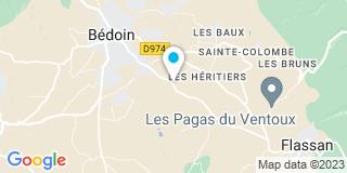 Plan Carte Arnoux Frédéric à Bédoin