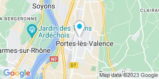 Plan Carte Combe-Laboissiere Olivier, Cartigny Pierre et  Balbinot-Roy Murielle à Portes Lès Valence