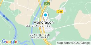 Plan Carte Combettes Vincent à Mondragon