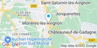 Plan Carte De Graeve-Tinaut Florence à Morières-Lès-Avignon