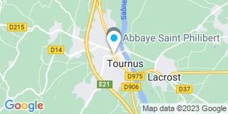 Plan Carte Les notaires Cathérine Miot-Henry et Hélène Rudloff à Tournus