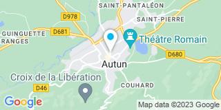 Plan Carte Notaire Nadège McNamara à Autun