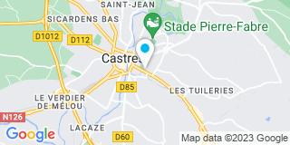 Plan Carte Jérôme Rancoule à Castres