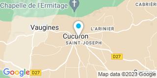 Plan Carte Manent Geneviève à Cucuron