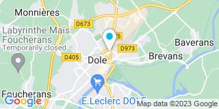 Plan Carte Emmanuel Moyse et Thomas Roquel  à Dole