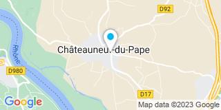 Plan Carte Mathian Paul-René à Châteauneuf-du-Pape