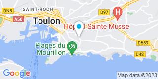 Plan Carte Alpha Synergie Nicolini Musso à Toulon