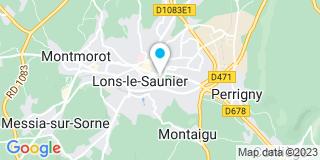Plan Carte Prost,Teston, Pontiroli et Maire à Lons-le-Saunier